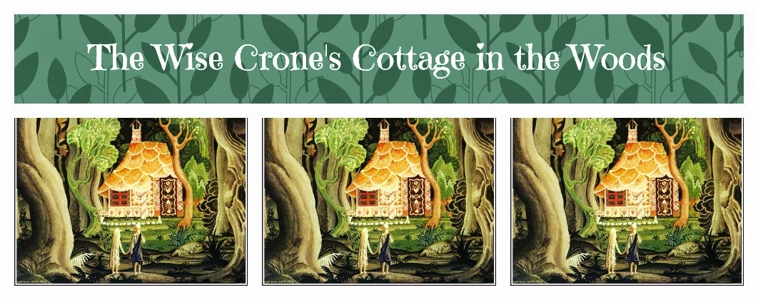 The Wise Crone's Cottage in the Woods