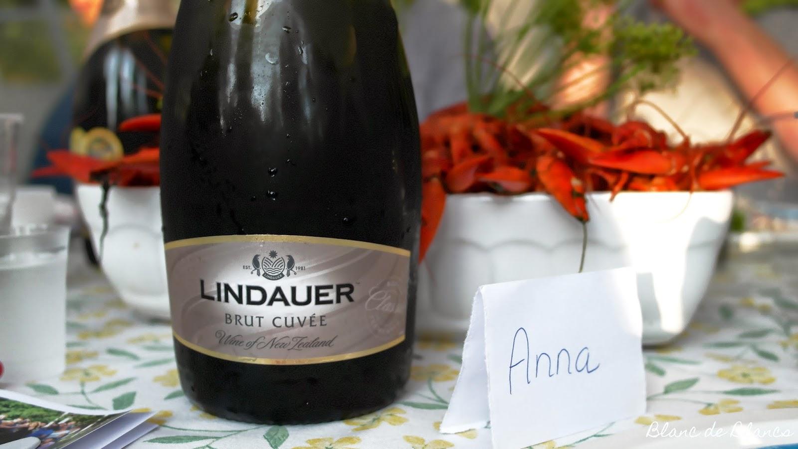 Rapuja ja Lindauer Brut - www.blancdeblancs.fi