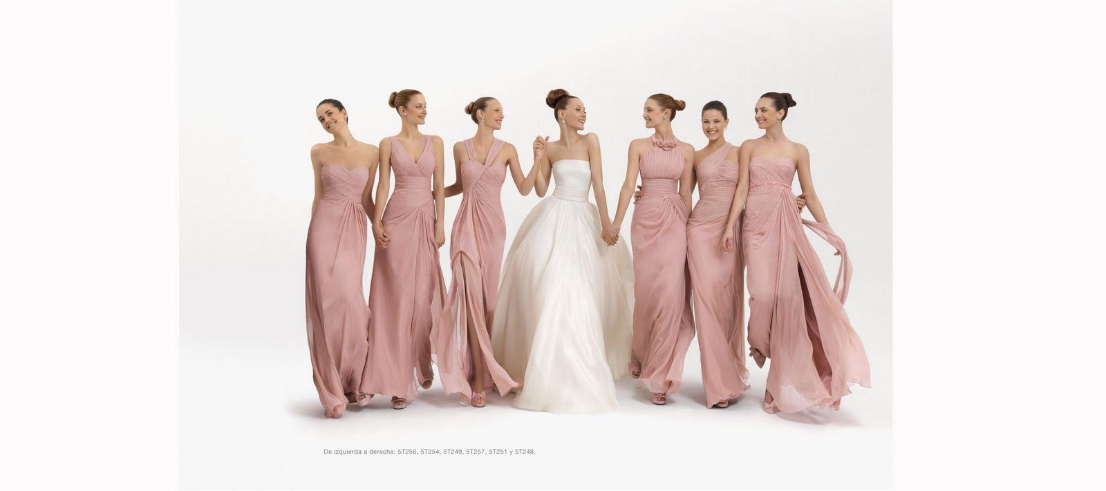 Vestidos para damas de honor 2012 | Bodas