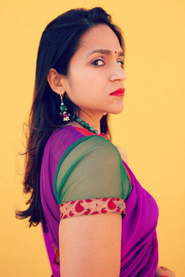 Saree, Indian Festival, Belsi Collection, Crazy & Co., Tanvii.com