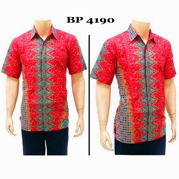 Baju Hem Batik Pria BP4190