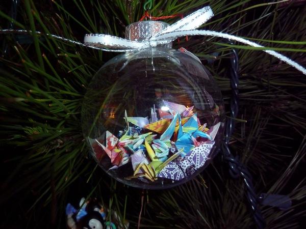 Sakacon: Origami Christmas Garland