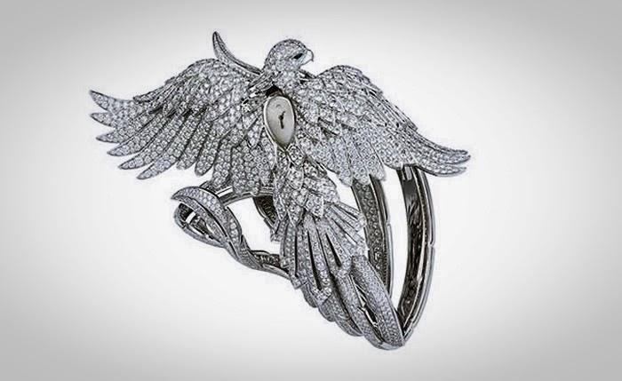 dong ho Cartier Secret Watch With Phoenix Decor