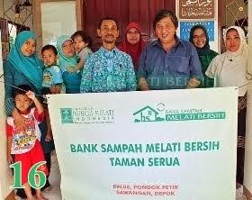 Bank Sampah Melati Bersih Taman Serua