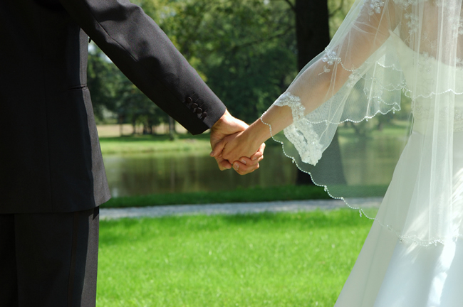 marriage love education career  just married couple