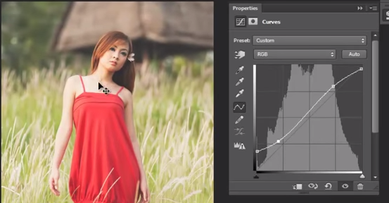 Tutorial Cara Edit Foto Model dengan Photoshop Cs5 Efek Soft Light