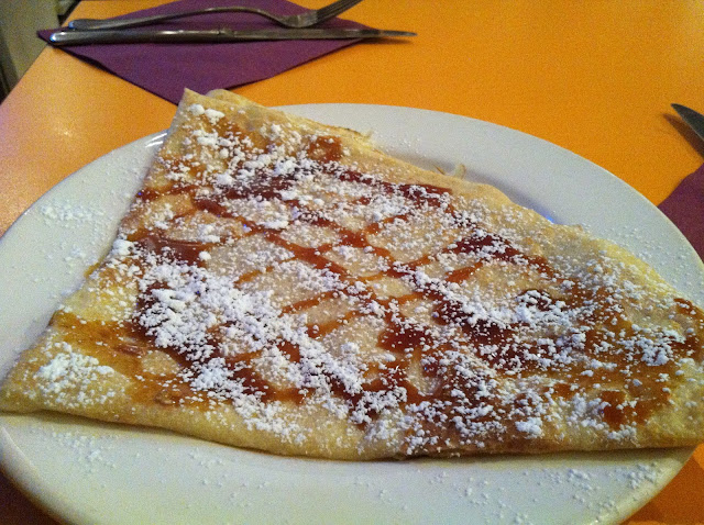 Salted Caramel and Butter Crepe ($6)