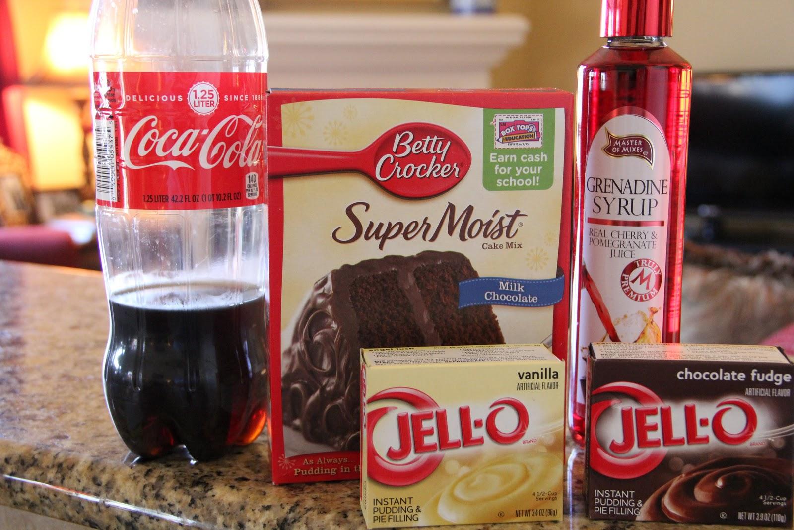 Mix and Match Mama: Bundt Cake #21: Chocolate Cherry Coca-Cola