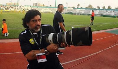 Maradona: «Dirigir en Argentina me da asco, es una mierda»
