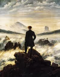 Wanderer above a sea of fog