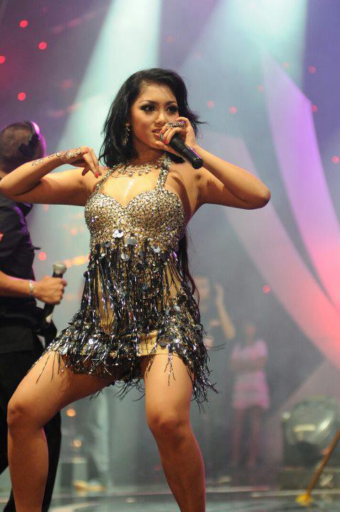 New Photos Spicy Mela Barbie Indonesian Dangdut Singer