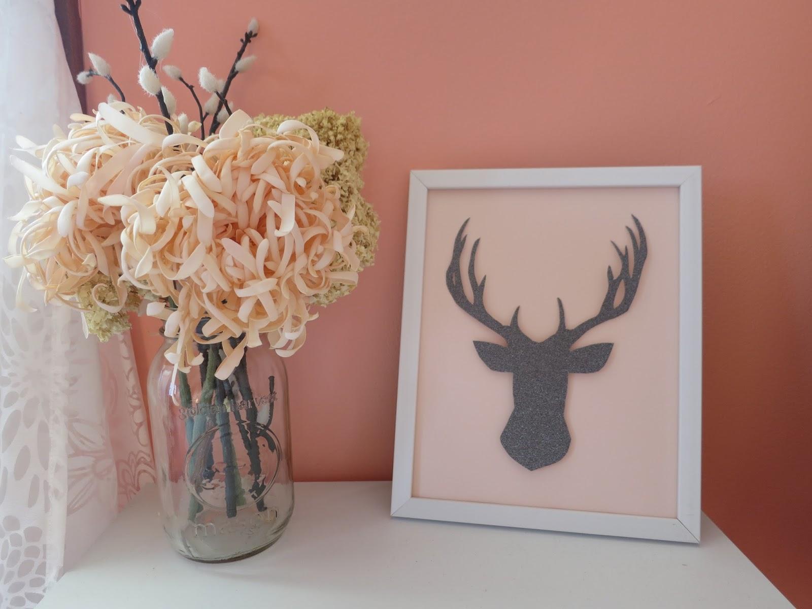 Deer Head Silhouette Stencil Printable For free printable animal