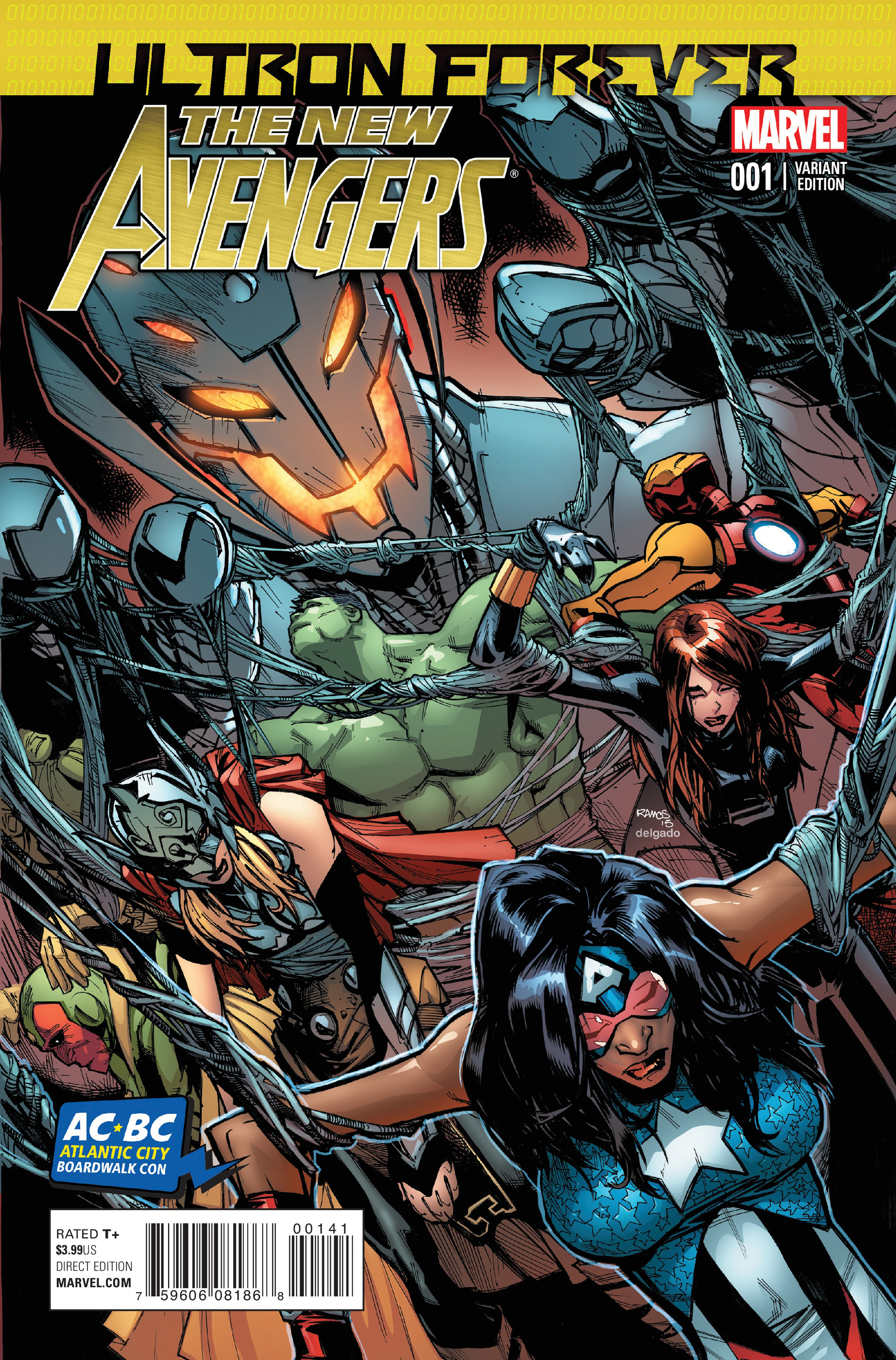 New Avengers (2013) Issue #33 #34 - English 3