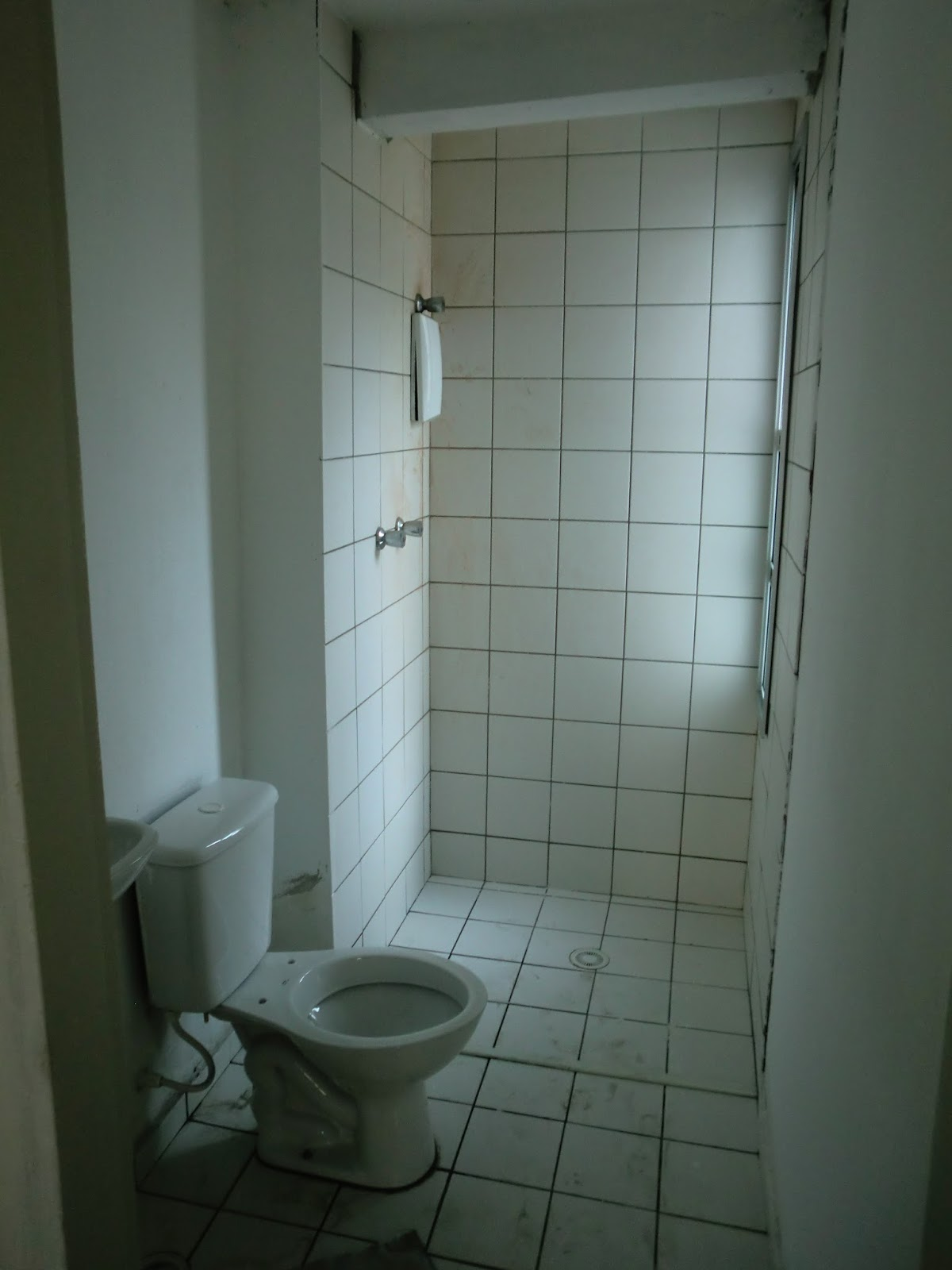 Reforma do Apartamento  Banheiro  Antes e Depois  Com Custos  Reforma Eco -> Reforma Banheiro Pequeno Antes E Depois