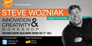 Seminar Steve Wozniak di Indonesia
