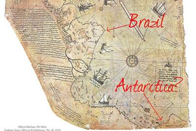 Antiguos mapas confirmarían el descubrimiento
