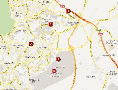 istanbul-sabiha-gökçen-havaalanı-civarı-en-yakın-oteller-harita