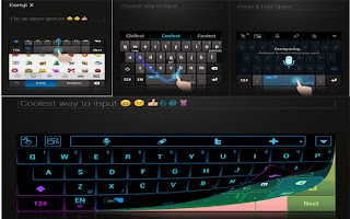 Touchpal x keyboard android