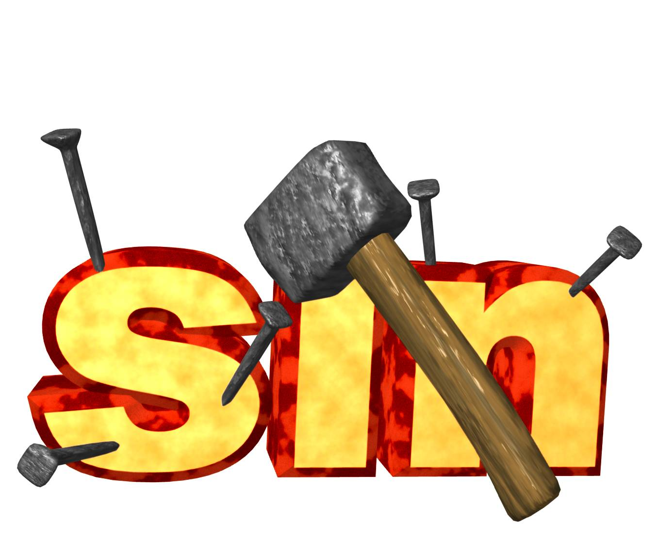 Not to Sin Clip Art Free