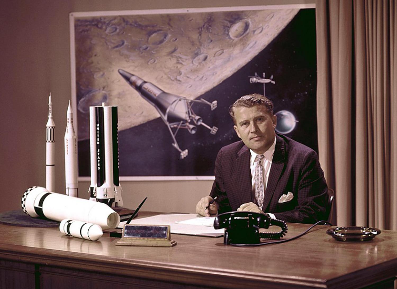 16 de Junho de 1977: Morre Wernher von Braun