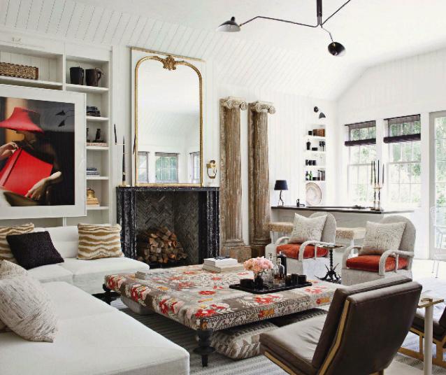 Trove interiors house of windsor gwyneth paltrow chris for Veranda living rooms