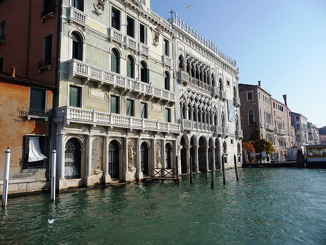 5 Top Tourist Attractions In Venice - A view of Ca' d'Oro, the Golden Palace, Venice