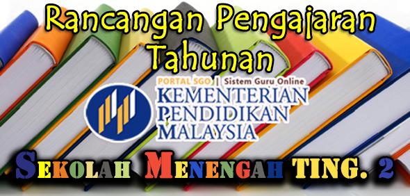 RPT Rancangan Pengajaran Tahunan Tingkatan 2 Subjek Bahasa Melayu