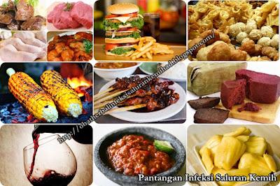 Makanan Yang Harus Dihindari Penderita Infeksi Saluran Kemih