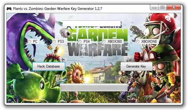 Plants Vs Zombies Garden Warfare Key Generator 1 2 7