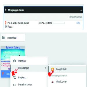 Cara Menyimpan File Presentasi Ke Dalam Web/ Blog