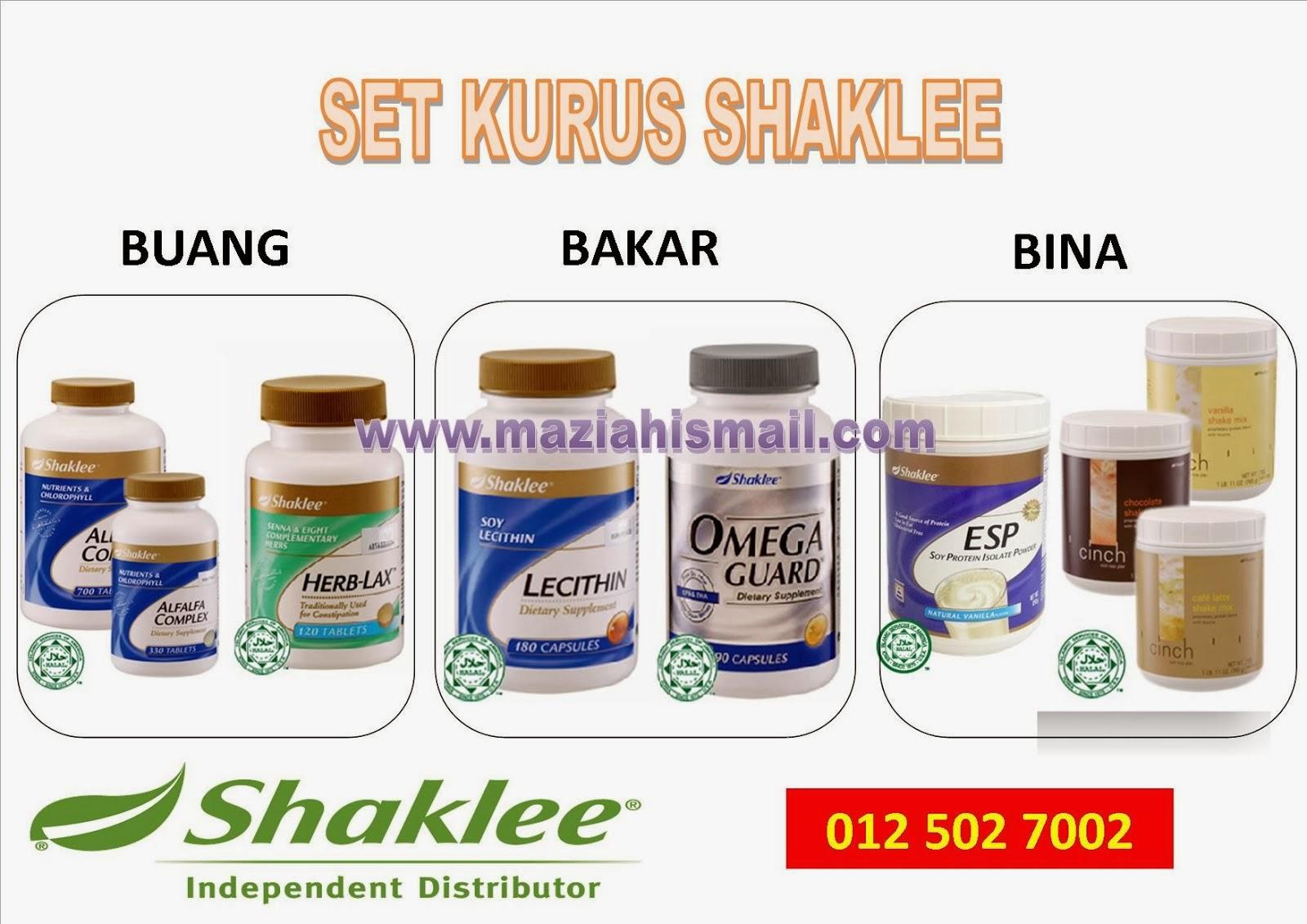 Set Kurus Shaklee