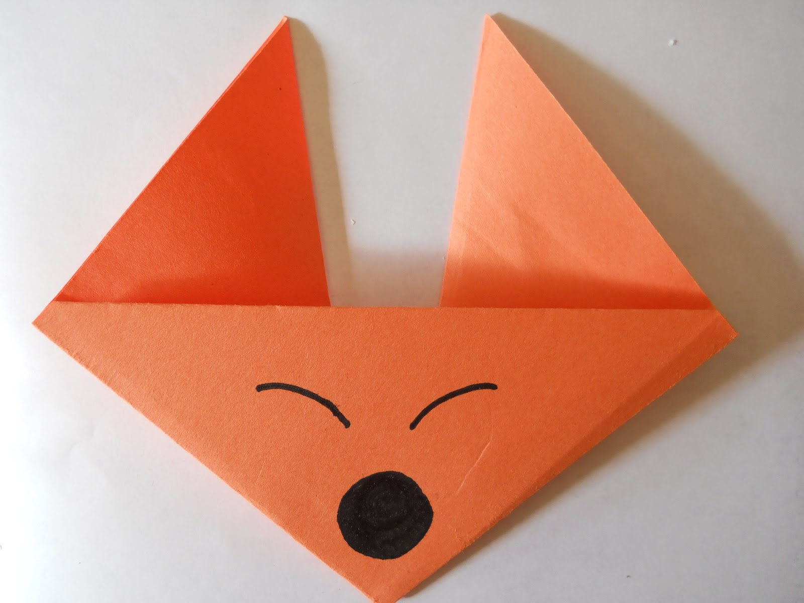 Mrs ts first grade class fox in socks origami fox in socks origami jeuxipadfo Gallery
