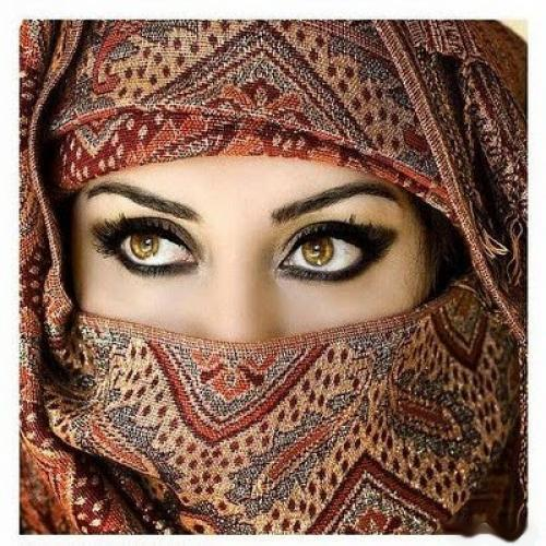 Arabian Girl With Hijab