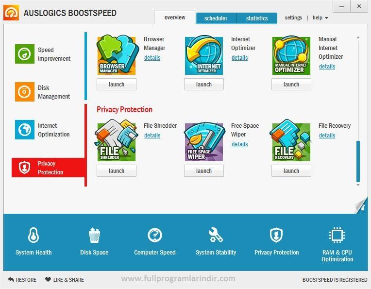AusLogics BoostSpeed Premium v7.3.0.0 Full Crack