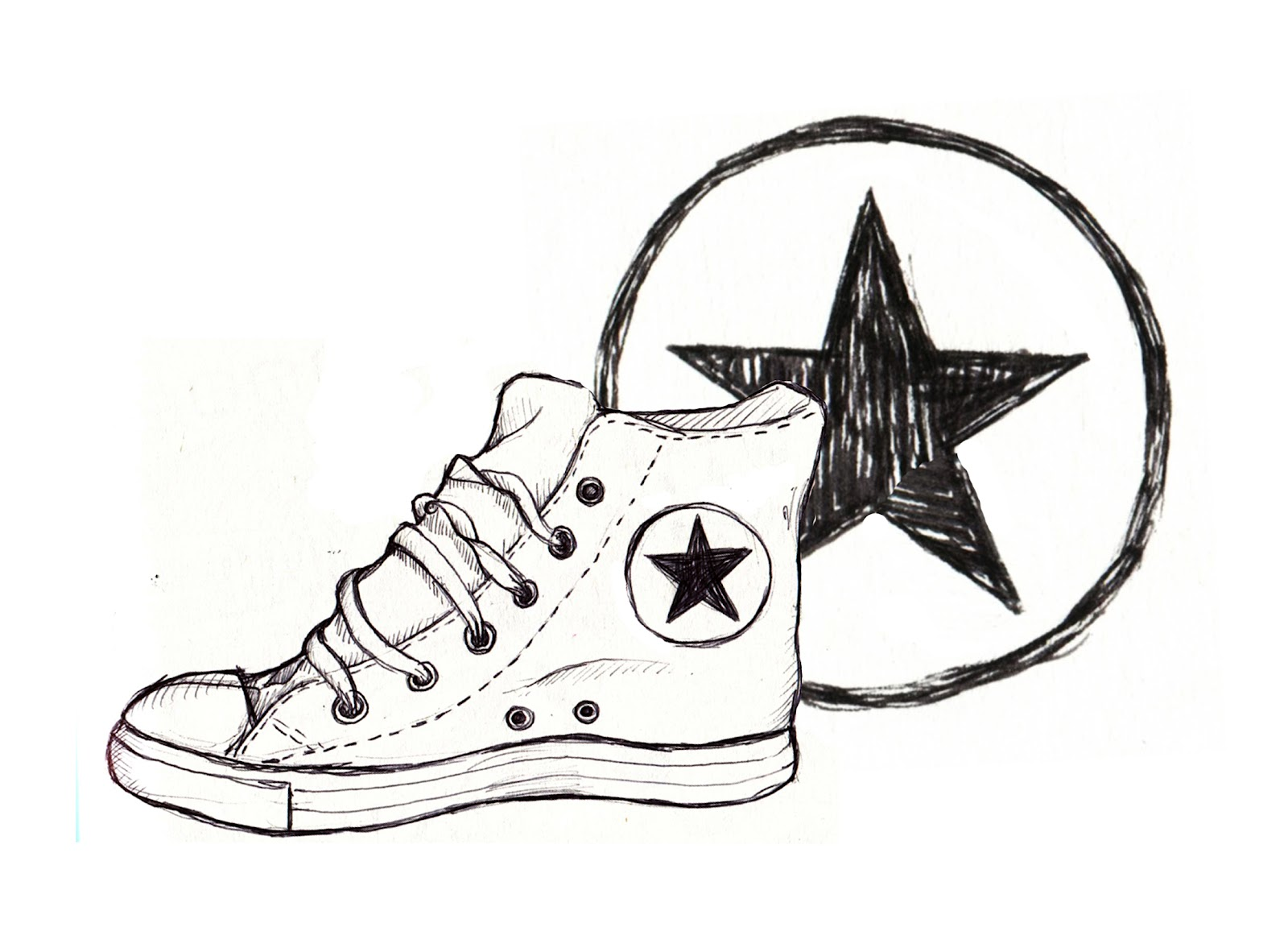 The gallery for converse logo drawing for Draw my logo