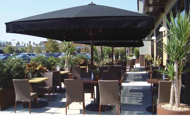 Terrazas climatizadas para hosteleria terraza compuesta for Alcampo sombrillas terraza