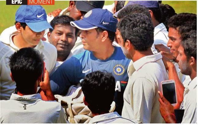 Epic Moment Sachin