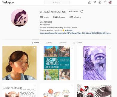 SKSS on Instagram @artteachermusings
