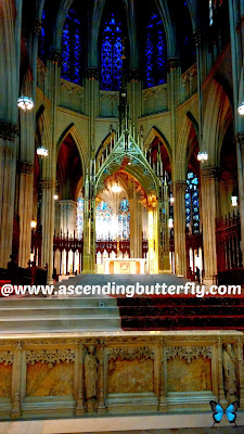 St. Patrick's Cathedral. Archdiocese of New York. Manhattan Landmark Catholic Church