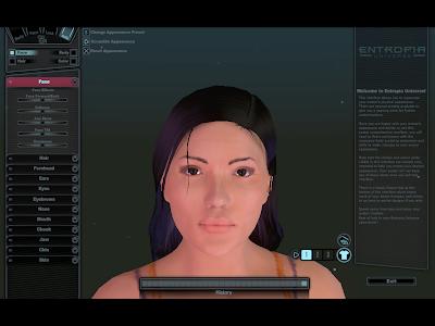 Entropia Universe - Character Customization Face