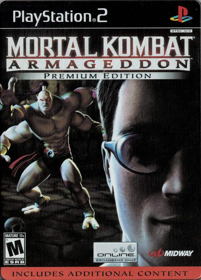 Mortal Kombat Armagedon Kollectors Edition Playstation II