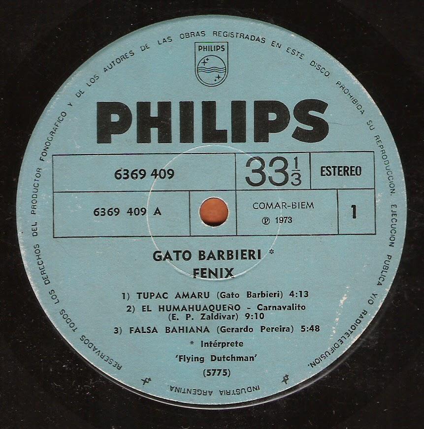 Gato Barbieri - Fenix (1971)