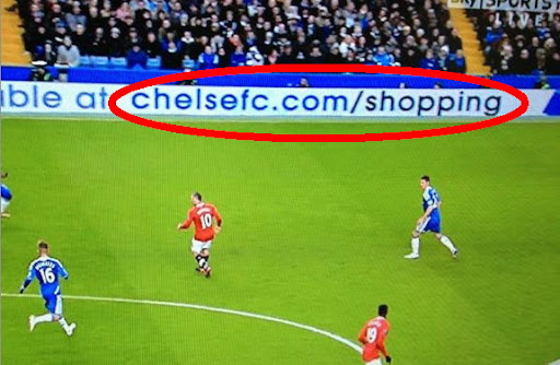 Chelsea can't spell own website address
