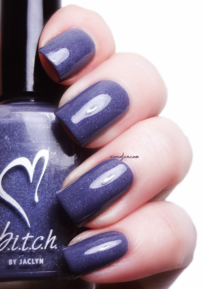 xoxoJen's swatch of b.i.t.c.h. by jaclyn Worst Book Ever