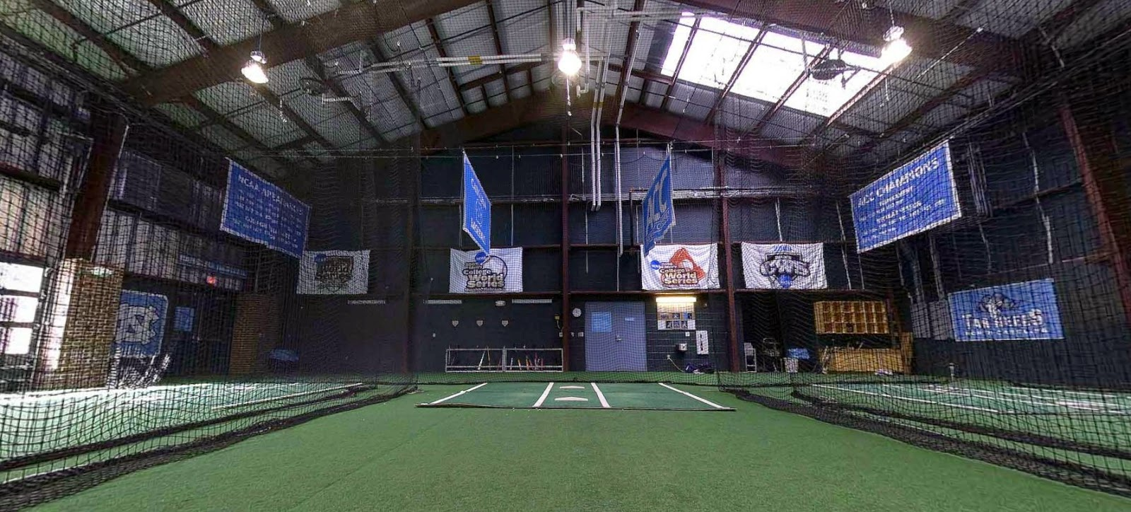 Indoor baseball batting cages trending for Design indoor baseball facility