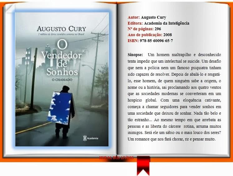 Tag Livros De Augusto Cury O Vendedor De Sonhos Em Pdf