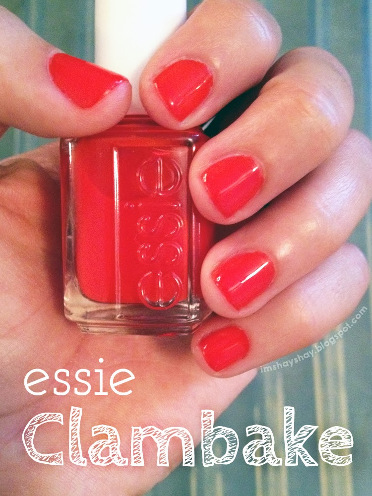 Essie Clambake Indoor Light | imshayshay.blogspot.com