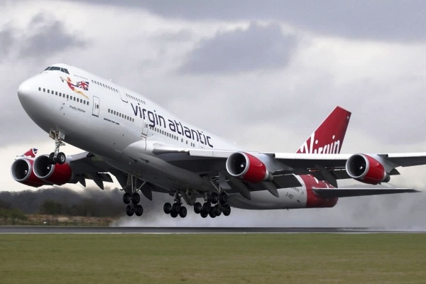 Pesawat Virgin Atlantic. ZonaAero