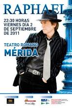Raphael en  Teatro Romano Mérida