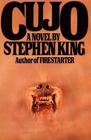 Cujo by Stephen King Hardcover 1981